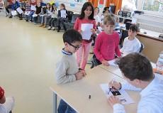 Sebastian Manz, Klarinette, in Heilbronn, Wartburgschule