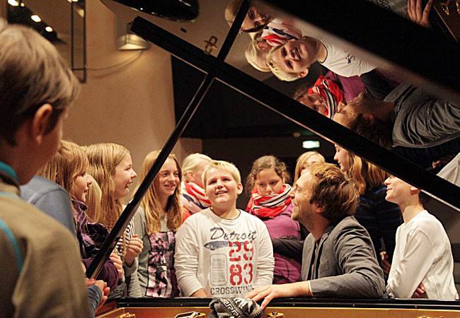 Herbert Schuch, Piano, in Dortmund, Immanuel-Kant-Gymnasium