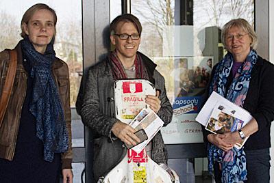 Ariane Stern, Tonhalle Düsseldorf, Alban Gerhardt und Sabine von Imhoff, Projektleitung