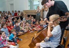 Daniel Müller-Schott , Cello, auf Schloss Hasenwinkel