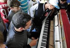 Kemal Cem Yilmaz, Piano, in Langenhagen, Gutzmann-Schule