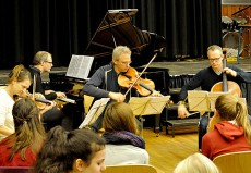 Fauré Quartett, in Duisburg, Landfermann-Gymnasium