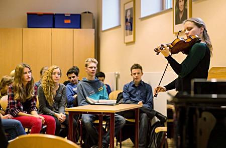 Julia Fischer, Sophie-Barat-Schule, Hamburg