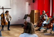 Tanja Tetzlaff (Cello), Hamburg, Gymnasium Lerchenfeld Hamburg