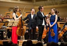 Rhapsody in Concert II / Tanja Tetzlaff, Lars Vogt, Malte Arkona und Veronika Eberle © T. Pluto