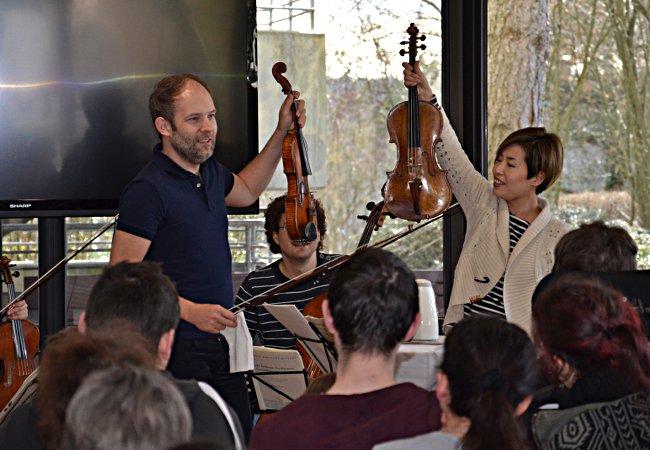 Amaryllis Quartett, Gailingen, Wilhelm-Bläsig-Schule