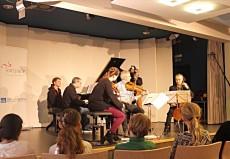 Fauré Quartett, Binz, Regionale Schule © Festspiele MV