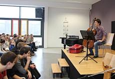 Maximilian Hornung (Cello), Cottbus, Evangelisches Gymnasium