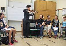 Augustin Hadelich (Violine), Würselen, Heilig-Geist-Gymnasium