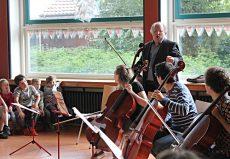 Alexander Baillie (Cello), Bremen, Grundschule Alt-Aumund