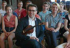Friedemann Eichhorn (Violine), Stralsund, Hansa-Gymnasium Stralsund