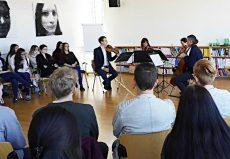 Auner Quartett, Wien, Business Academy Donaustadt
