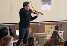 Kristóf Baráti (Violine), Bremen, Gymnasium Vegesack