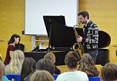 Markus Ehrlich (Saxophon) | Anny Hwang (Piano), Saarbrücken, Marienschule Saarbrücken