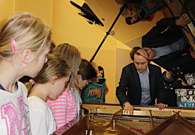 Alexander Schimpf (Piano), Wusterwitz, Wilhelm-Götze-Schule