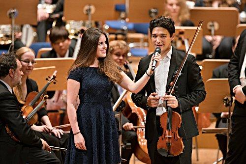 Erik Schumann, Schülerin des Humboldtgymnasiums Düsseldorf © S. Diesner