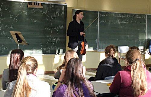 Sergey Malov (Violine), Ludwigshafen, Theodor-Heuss-Gymnasium Ludwigshafen