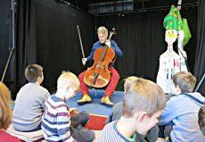Alban Gerhardt (Cello), Berlin, Panke-Schule Berlin