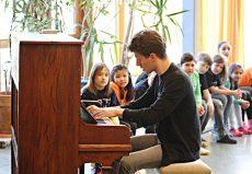 Alexander Krichel (Piano), Bremen, Grundschule am Pastorenweg