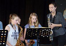 Asya Fateyeva (Saxophon), Großhansdorf, Emil-von-Behring-Gymnasium
