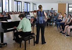 Duo Concertante, Köln, Ursulinenschule Köln