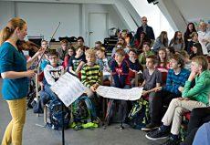Carolin Widmann (Violine), Speyer, Gymnasium am Kaiserdom © Schwetzinger Festspiele