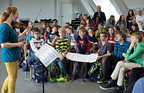 Carolin Widmann (Violine), Speyer, Gymnasium am Kaiserdom