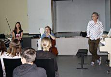 Matthias Kirschnereit (Piano) | Lena Neudauer (Violine) | Julian Steckel (Cello), Rostock, Innerstädtisches Gymnasium Rostock