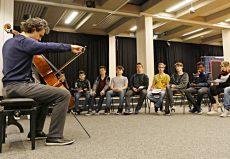 Leonard Elschenbroich (Cello), Hannover, Südstadtschule © klaus peters-atelier ph