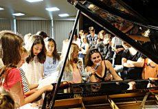 Kiveli Dörken (Piano), Euskirchen, Marienschule Euskirchen ©Marion Kleinebreil