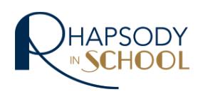 Rhapsody in School Logo - Klassische Musik an Schulen
