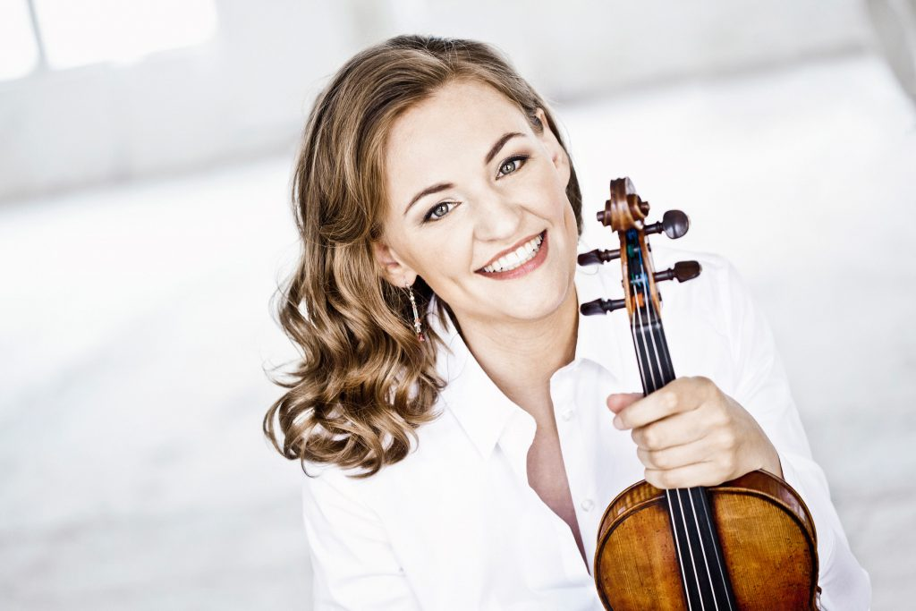 Franziska Hölscher, Violinistin © Irene-Zandel