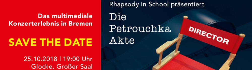 Save The Date /Rhapdsody in Concert /25.10.2018 / Bremen / Die Glocke